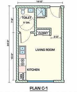 Creative, Small, Studio, Apartment, Floor, Plans, Designs