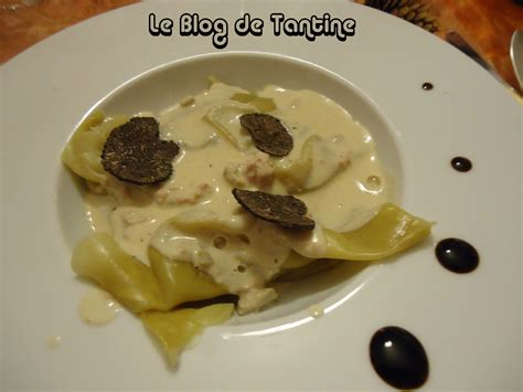 feuille de pate a raviole chinoise ravioles de foie gras a la truffe cuisine de tantine