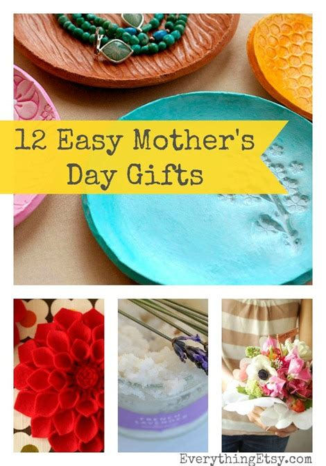 and easy s day gifts 12 easy mother s day gifts pinlavie com