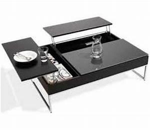 Table De Salon Transformable : table de salon convertible table salon convertible sur enperdresonlapin ~ Teatrodelosmanantiales.com Idées de Décoration