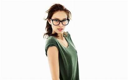Brunette Wallpapers Glasses Brunettes Gorgeous Lentes Emily