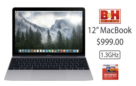 apple s early 2015 12 quot macbook 1 3ghz 8gb 256gb for 999 with free shipping and no tax