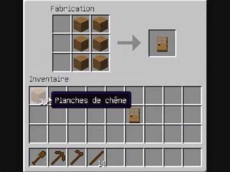 comment faire une cuisine dans minecraft comment faire une porte une trappe et un bâteau dans