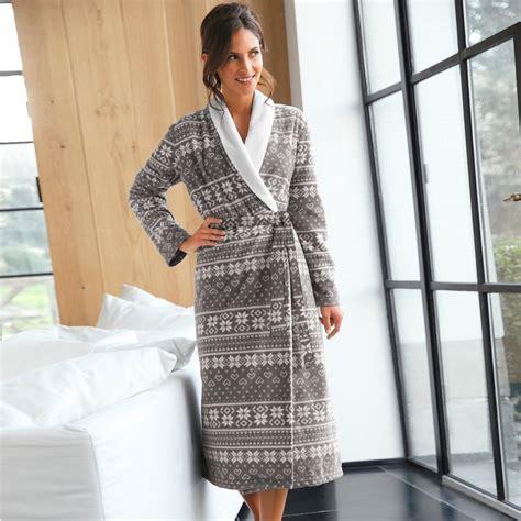 robe de chambre chaude homme peignoir polaire femme pourquoi en achetez un