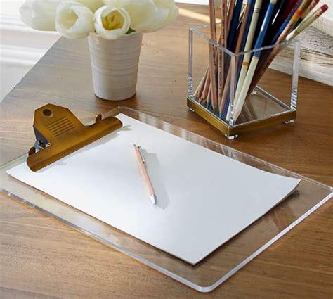 pottery barn desk accessories stella acrylic brass desk accessories pottery barn
