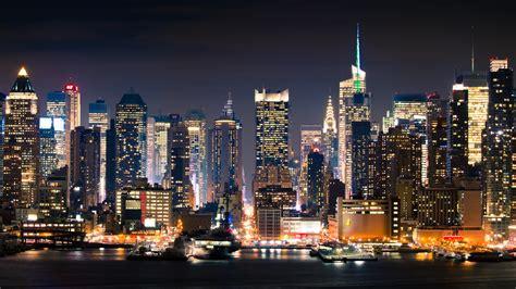 City, New York, Manhattan, Full Hd 2k Wallpaper