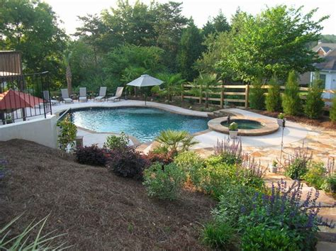 backyard makeover with pool ideas for lanscaping tell a landscaping ideas after pool removal