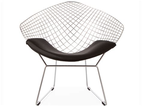 bertoia wire chair black