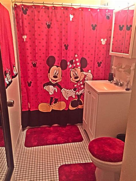 Cheap Mickey Mouse Bathroom Decor by 17 Best Images About My Minnie On Disney Wash