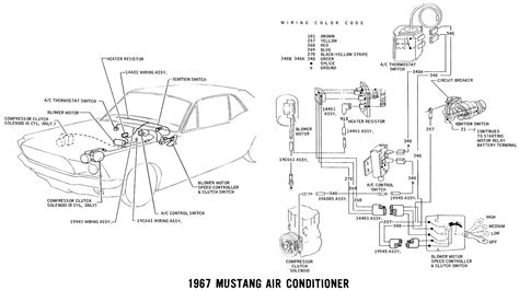 alternator wiring diagram for 1967 mustang wiring library