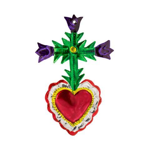 corazones mexicanos de hojalata  laton fantastik