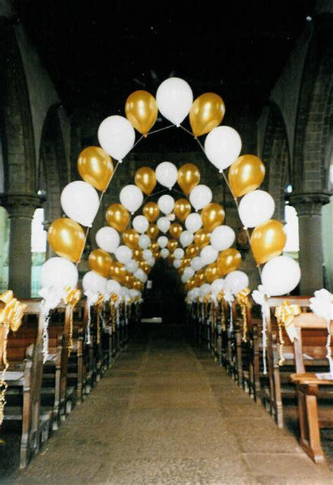 decoration d eglise en ballon pour mariage