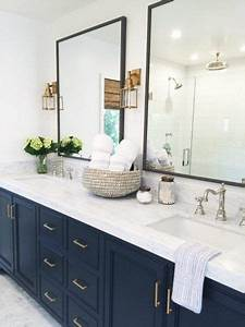 25 best ideas about blue vanity on pinterest blue With kitchen cabinet trends 2018 combined with vintage nautical wall art