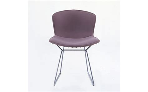 bertoia side chair with cover boucle design within reach
