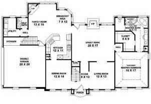 5 bedroom house plans 2 653907 traditional 4 bedroom 2 5 bath house plan house plans floor plans home plans plan