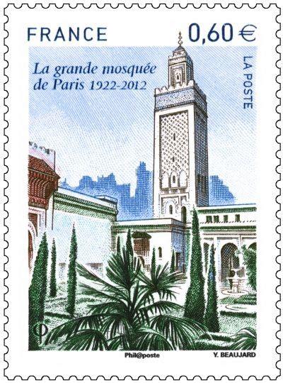 horaires bureaux de poste un timbre à l 39 éffigie de la grande mosquée de