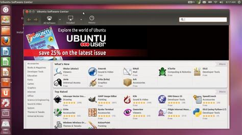 sas telecharger un logiciel libre pour ubuntu