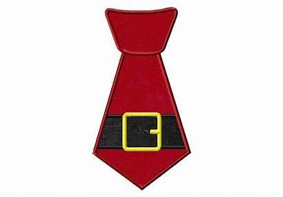 Santa Tie Christmas Applique Elf Holiday Clipart