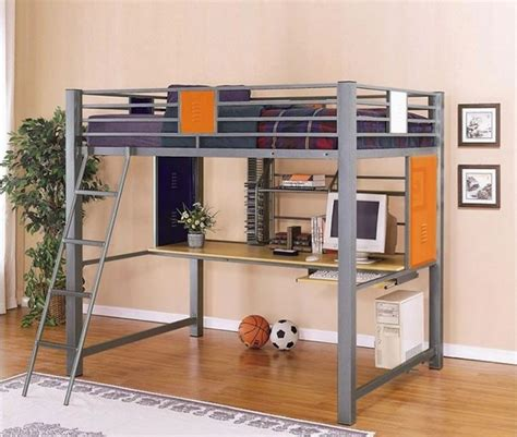 Ikea Bunk Bed With Desk And Shelf by Ikea Size Loft Bed With Desk