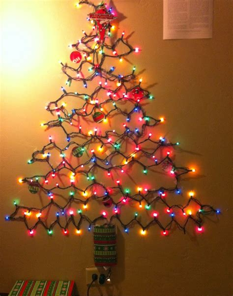 image result for wall tree for christmas holiday
