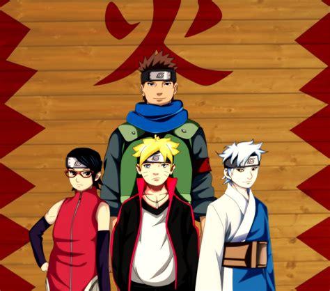 team konohamaru full hd wallpaper  background image