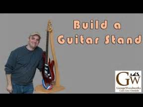 Build a Curvy Guitar Stand - YouTube