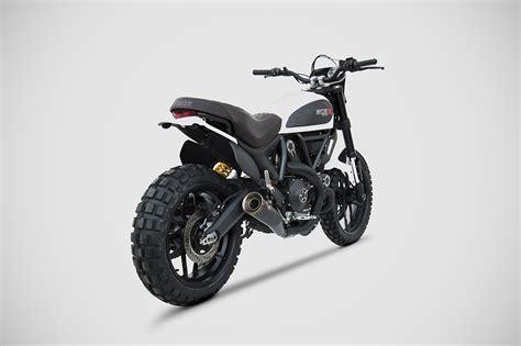 Ducati Scrambler Icon Modification by Scrambler Ducati Zard Exhaust Zard