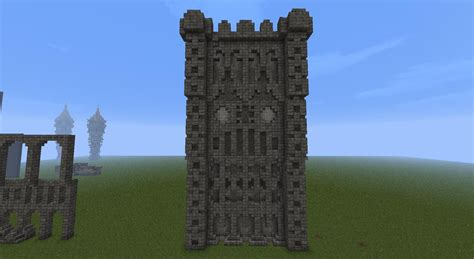 minecraft castle wall designs does it look like a castle town wall and if it does is