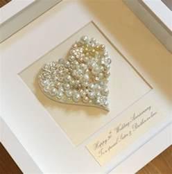 30th wedding anniversary 30th pearl wedding anniversary gift pearl wedding anniversary present personalised 30th
