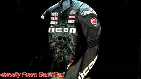 Icon Prime Hero Leather Motorcycle Jacket