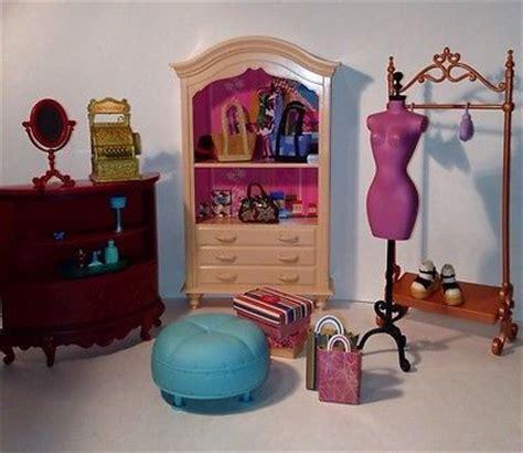 mattel furniture boutique barbie  scene ebay barbies