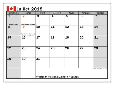 calendrier juillet canada michel zbinden fr
