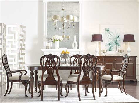 Hadleigh Oval Dining Room Set From Kincaid Furniture