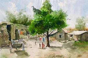 Indian Artist- Jitendra Sule's Watercolour Paintings: The ...