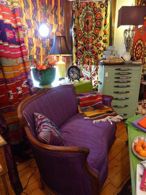 gypsy inspired boho living room    love
