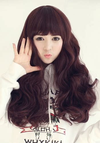 korean female hairstyle  baby doll latest hair