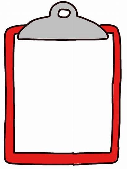 Clipboard Checklist Clipart Template Clipboards Cartoon Clip