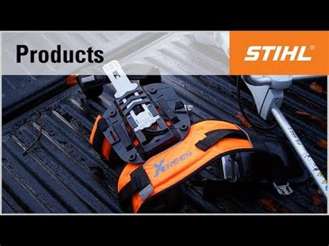 the stihl advance x treem forestry harness