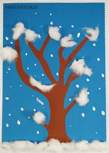 Basteln Im Januar : winterdeko basteln schneetreiben bastelnmitkids ~ Articles-book.com Haus und Dekorationen