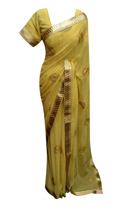 indian exlusive sarees beige  gold border wedding
