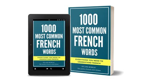 1000 most common French words | The perfect French with Dylane