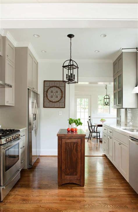 Kitchen With Small Island 49 Impressive Kitchen Island Design Ideas Top Home Designs