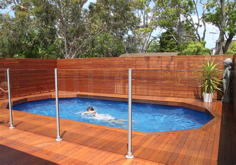 pool deck fencing ideas riveting deck pool designs above ground with horizontal wooden fence panels also swimming pool