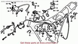 Honda Xl185s 1982 Usa Wire Harness Ignition Coil C D I
