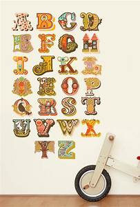 alphabet wall decals not vinyl large by jeanie nelson With large vinyl letter decals