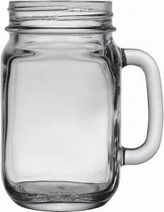 Mason, Jar, With, Handle