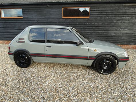 Peugeot 205 Gti For Sale by For Sale Peugeot 205 Gti 1 9 1991 Offered For Gbp 8 750