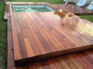 Couverture De Terrasse : cr ation couverture de piscine amovible transformable en ~ Edinachiropracticcenter.com Idées de Décoration