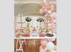 Trims of Gold Dessert Props Package $350diy
