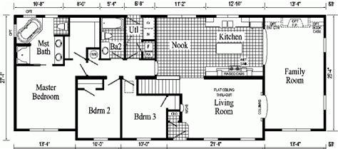 cool open floor plans ranch homes  home plans design